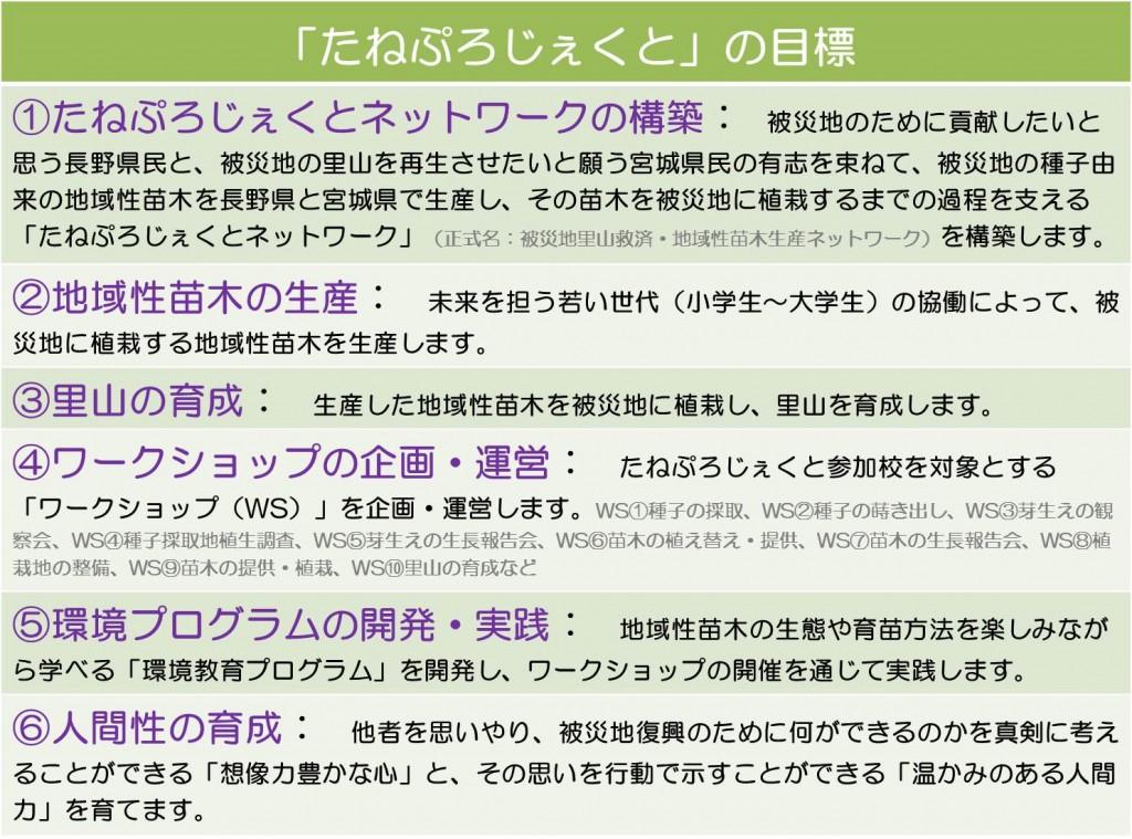 201310124 たねぷろじぇくと目標
